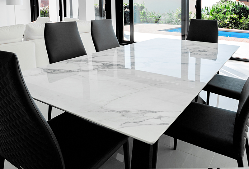 Marble Theme Resin Tables