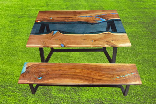 bench and table 1